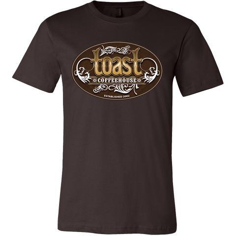 Toast T-Shirt for Men (brown)
