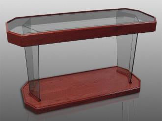 Glass Communion Table NC40/NC40G Prestige RHEMA