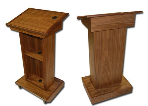 Handcrafted Solid Hardwood Lectern Royal