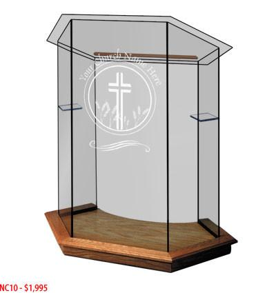 Glass Pulpit NC10/NC10G Prestige FOUNDATION
