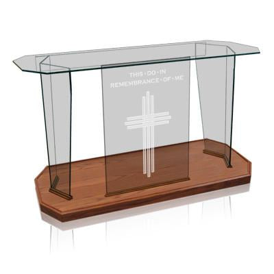 Glass Communion Table NC41/NC41G Prestige Elegance