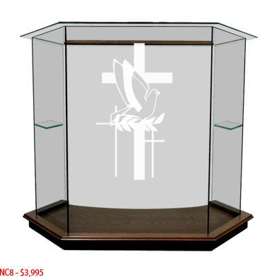 Glass Pulpit NC8/NC8G Prestige The PRESTIGE