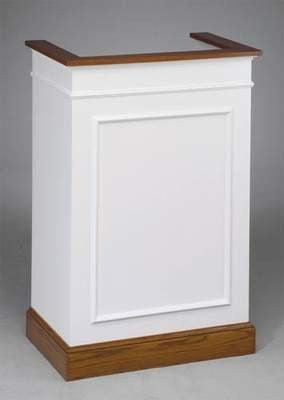 Church Wood Pulpit Single NO 811-Church Solid Wood Pulpits, Podiums and Lecterns-Podiums Direct