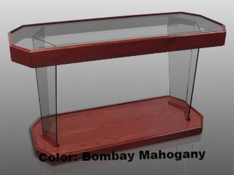 Glass Communion Table NC40/NC40G Prestige RHEMA-Glass Pulpits, Podiums and Lecterns and Communion Tables-Podiums Direct