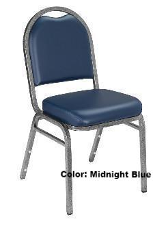 Banquet Chair Model 9200 Dome Vinyl Padded Stack