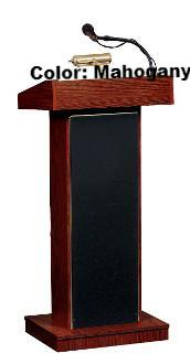 "Sound Lectern 800X Oklahoma Sound ""The Orator"" Fixed Height-Sound Podiums and Lecterns-Podiums Direct"