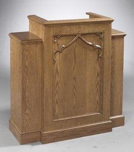 NO 200W Wing Lectern, Podium, Pulpit. FREE SHIPPING!