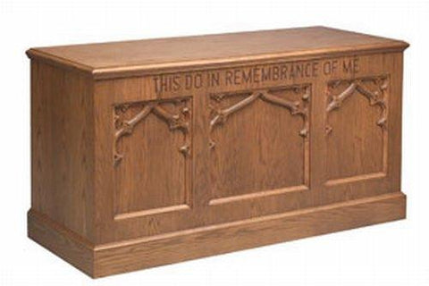 Communion Table NO 200 Closed Style-Communion Tables and Altars-Podiums Direct