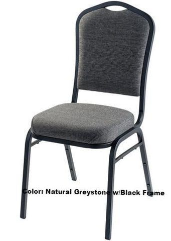 Banquet Chair Model 9300 Silhouette Fabric Padded Stack