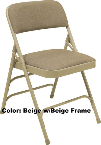 Model 2300 Fabric Upholstered Premium Folding Chair