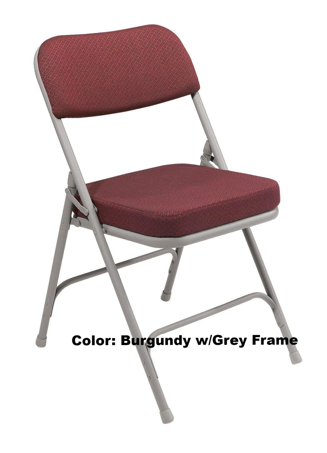 "Banquet Chair Model 3200 Folding 2"" Upholstered Seat – Podiums Direct"