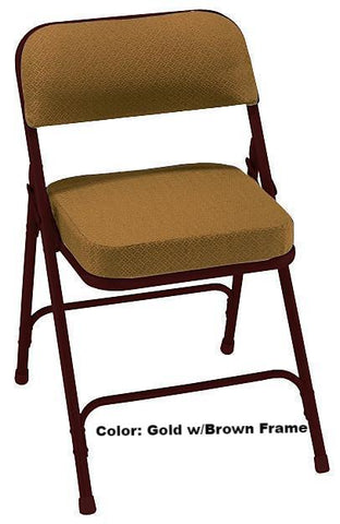 "Model 3200 2"" Upholstered Seat Folding Chair"