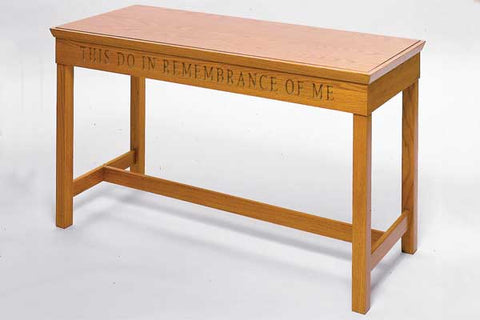 Communion Table NO 405-Communion Tables and Altars-Podiums Direct