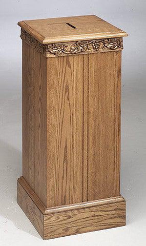 Tithe Box NO 50 Tithe/Prayer Box-Tithe Boxes, Baptismal Font, Flower Stands, and Offering Tables-Podiums Direct