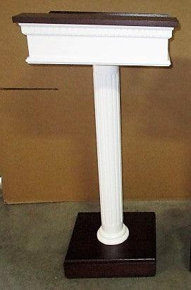 Custom No. 5SS Speaker Stand-Church Solid Wood Pulpits, Podiums and Lecterns-Podiums Direct