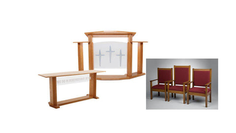 Church Pulpit Set 703 Proclaimer.  FREE SHIPPING!