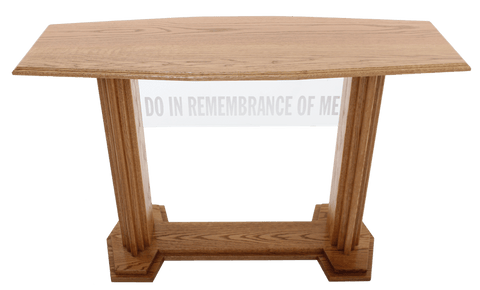 Communion Table 705 Proclaimer Acrylic and Wood Style-Communion Tables and Altars-Podiums Direct