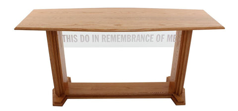 Communion Table 707 Proclaimer Acrylic and Wood Style-Communion Tables and Altars-Podiums Direct