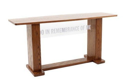 Communion Table 780 Acrylic and Wood Style-Communion Tables and Altars-Podiums Direct