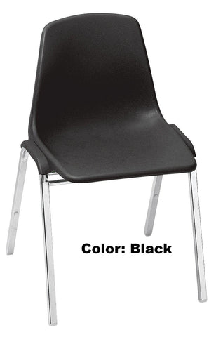 Banquet Chair Model 8100 Series Poly Shell Stacking
