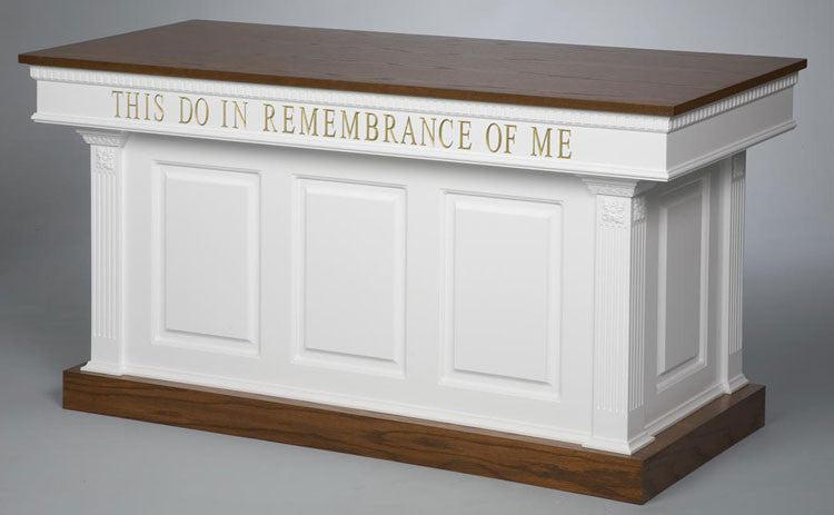 Communion Table NO 8201   FREE SHIPPING!