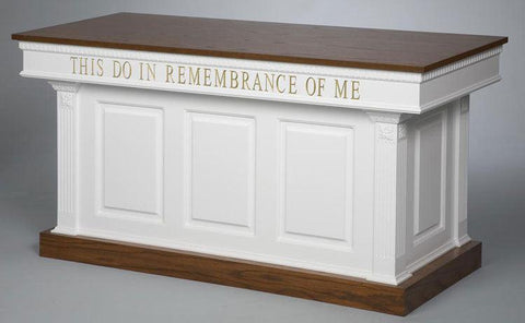 Communion Table NO 8201-Communion Tables and Altars-Podiums Direct