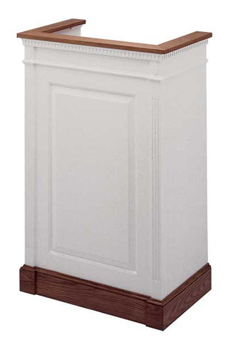 Church Wood Pulpit Single NO 821-Church Solid Wood Pulpits, Podiums and Lecterns-Podiums Direct