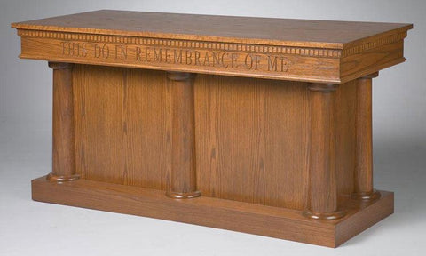Communion Table NO 8300-Communion Tables and Altars-Podiums Direct