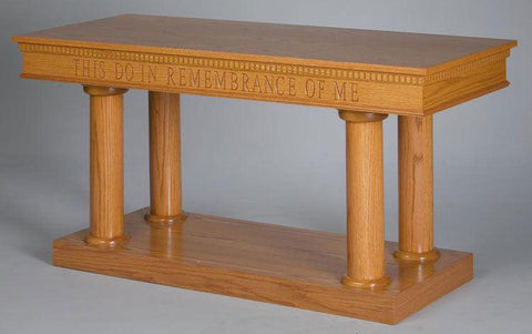 Communion Table NO 8305 Open Style-Communion Tables and Altars-Podiums Direct