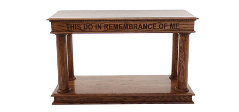 Communion Table 834 Column Pedestal - FREE SHIPPING!