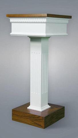 Flower Stand NO 8400-Tithe Boxes, Baptismal Font, Flower Stands, and Offering Tables-Podiums Direct