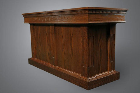 Communion Table NO 8410-Communion Tables and Altars-Podiums Direct