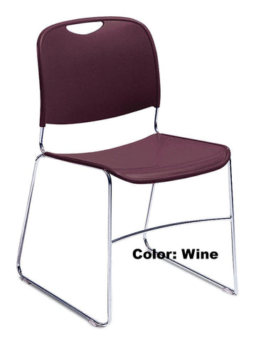 Model 8500 Hi-Tech Ultra-Compact Staker Chair