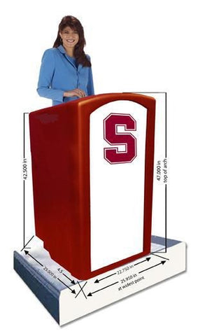 Contemporary Lectern and Podium SN3253 Amplivox Collegiate Multimedia-Contemporary Lecterns and Podiums-Podiums Direct