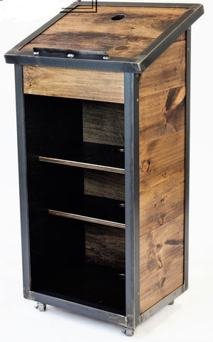 Valet Podium and Host Station, The Dylan - FREE SHIPPING!