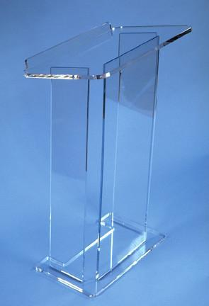 Acrylic Lectern Model I-Acrylic Lecterns-Podiums Direct