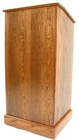 Handcrafted Solid Hardwood Lectern The Graduate-Handcrafted Solid Hardwood Pulpits, Podiums and Lecterns-Podiums Direct