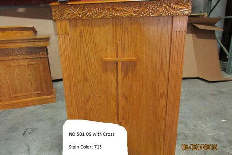 Church Wood Pulpit Single NO 501 OS - FREE SHIPPING!