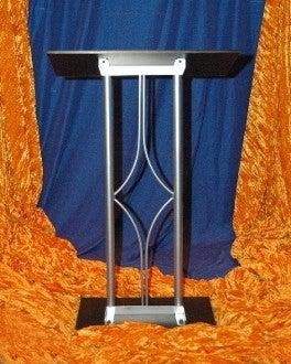 Metal Truss Lectern JP3 Contemporary-Metal Truss Podiums and Lecterns-Podiums Direct