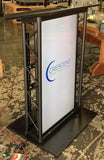LCD Digital Display Lectern JP4 Metal Truss-Metal Truss Podiums and Lecterns-Podiums Direct