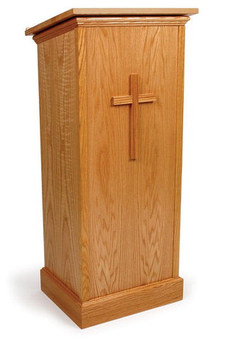 Non Sound Lectern FPL245 Full Pedestal - FREE SHIPPING!