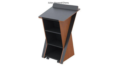Stylish Presentation Lectern, LEX321-Contemporary Lecterns and Podiums-Podiums Direct