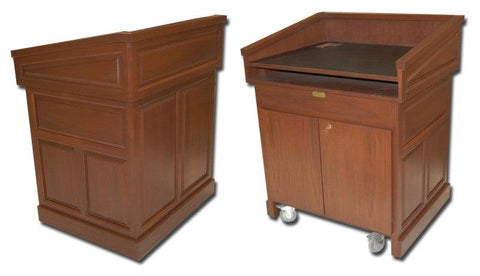 Multimedia Lectern Empire-Multimedia Podiums and Lecterns-Podiums Direct