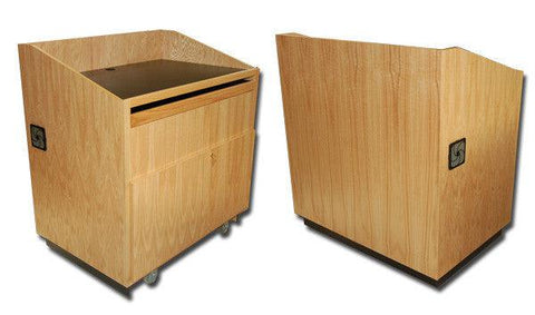 Multimedia Lectern Commander-Multimedia Podiums and Lecterns-Podiums Direct