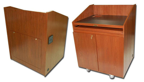 Multimedia Lectern Authority-Multimedia Podiums and Lecterns-Podiums Direct