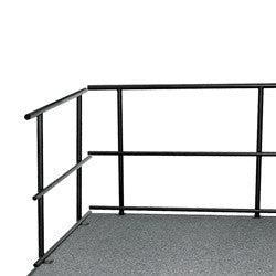 "NPS 48""W Guard Rails for Stages"