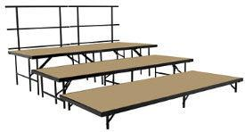 SST36HB Stage Set W/Hardboard By National Public Seating