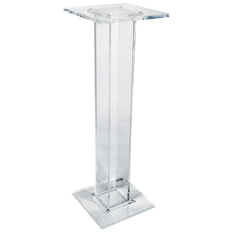Church Water Stand Single Column-Tithe Boxes, Baptismal Font, Flower Stands, and Offering Tables-Podiums Direct