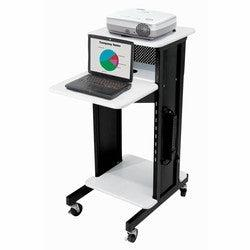 Presentation AV Cart PRC200 Oklahoma Sound-Presentation AV Tablet Laptop Carts and Plasma LCD Stands-Podiums Direct