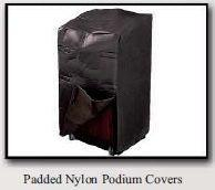 Podium Cover-Wireless Microphones and Lights, Podium and Lectern Options-Podiums Direct